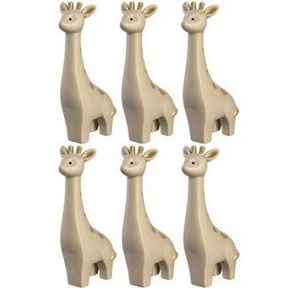 Leonardo Leonardo Aufsteller 20 cm Giraffe, 6 Stück