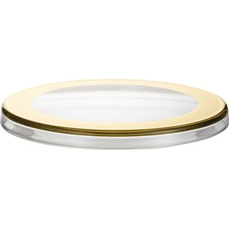 Eisch Glas Eisch Tortenplatte 31 cm gold Aurea