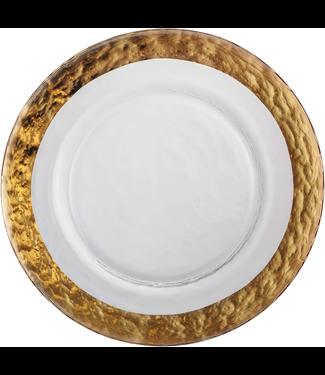 Eisch Glas Eisch Dessertteller 20,5 cm Colombo Gold