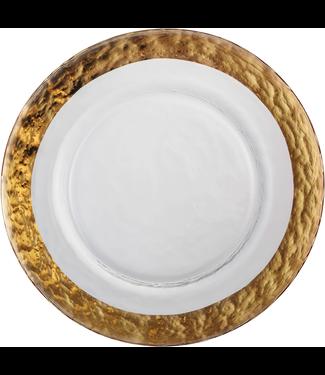 Eisch Glas Eisch Essteller 28 cm Colombo Gold