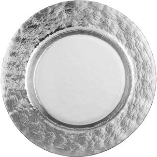 Eisch Glas Eisch Essteller 28 cm Colombo Silber
