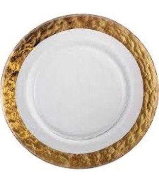 Eisch Glas Eisch Platzteller 34 cm Colombo Gold