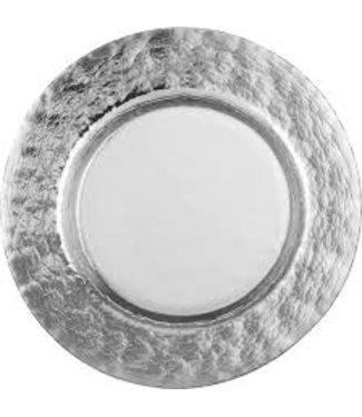 Eisch Glas Eisch Platzteller 34 cm Colombo Silber