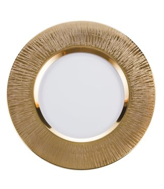 Eisch Glas Eisch Teller 35 cm Ravi Gold
