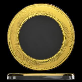 Eisch Glas Eisch Tortenplatte 301/31 gold Goldleaf