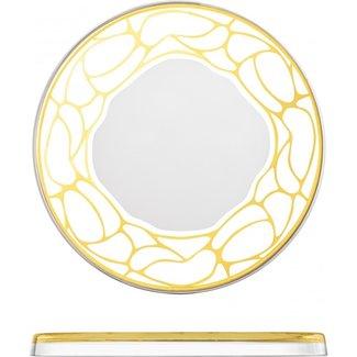 Eisch Glas Eisch Tortenplatte 301/31 Stargate gold