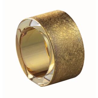 Eisch Glas Eisch Serviettenring gold Gold Rush