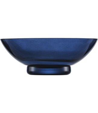 Eisch Glas Eisch Schale 20 cm blau Java