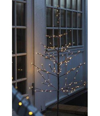 SIRIUS Sirius Weihnachtsbaum Alex 180 cm beschneit mit 240 LED