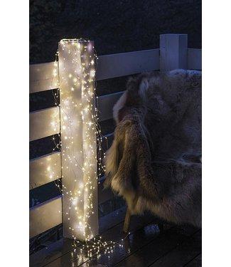 SIRIUS Sirius LED Lichterkette Angel Hair Knirke 16 m, 160 LED Silber