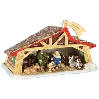 Villeroy & Boch VILLEROY & BOCH Christmas Toy's Memory Krippe, bunt, 27 x 16 x 16 cm