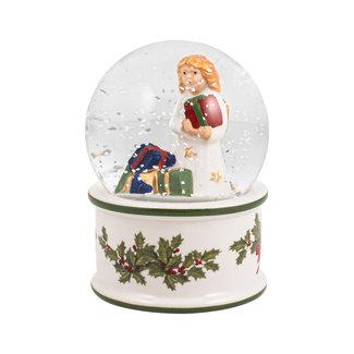 Villeroy & Boch VILLEROY & BOCH Christmas Toys kleine Schneekugel Christkind, 6,5 x 6,5 x 9 cm
