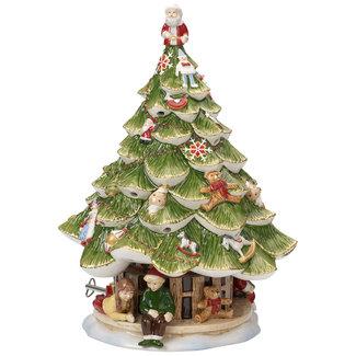 Villeroy & Boch VILLEROY & BOCH Christmas Toys Memory Grosser Tannenbaum mit Kindern 30cm