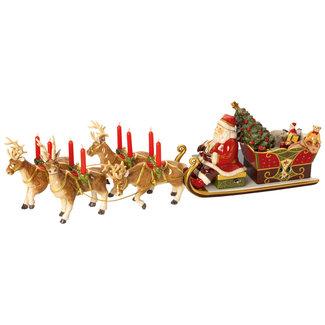 Villeroy & Boch VILLEROY & BOCH Christmas Toys Memory Santa's Schlittenfahrt 22x70x16cm