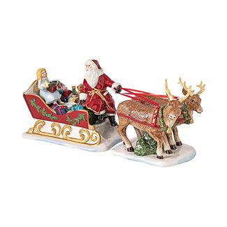 Villeroy & Boch VILLEROY & BOCH Christmas Toys Schlitten Nostalgie, 36 x 14 x 17 cm