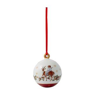 Villeroy & Boch VILLEROY & BOCH Annual Christmas Edition Kugel 2020, 6,5 x 6,5 x 8 cm