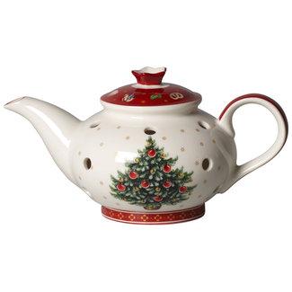 Villeroy & Boch VILLEROY & BOCH Toy's Delight Decoration Teelichthalter Kaffeekanne 16x9,5x9cm