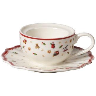 Villeroy & Boch VILLEROY & BOCH Toy's Delight Decoration Teelichthalter Kaffeetasse 9,8x9,8x4cm