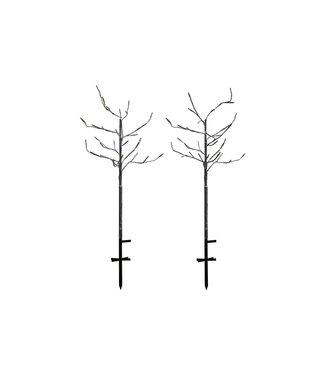 SIRIUS Sirius Weihnachtsbaum Alex 2er-Set beschneit
