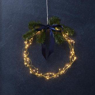 SIRIUS Sirius LED Lichterkette Angel Hair Knirke 16 m, 160 LED Gold