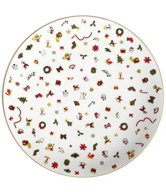 TAITÙ Taitù Noel Portata Rotondo - Segnaposto / Round Platter - Chop