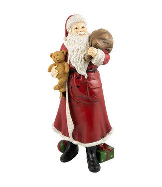 Villeroy & Boch VILLEROY & BOCH Winter Collage Accessoires Weihnachtsmann XL 26x15x65cm