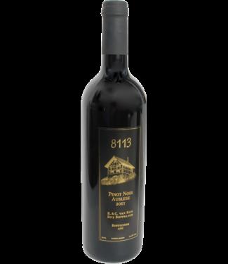 8113 - Bopplisser Wein 8113 Bopplisser Zürcher Rotwein Pinot Noir Auslese
