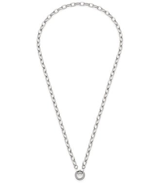 LEONARDO SCHMUCK Leonardo Schmuck Halskette mit Anhänger Gala Clip & Mix Edelstahl