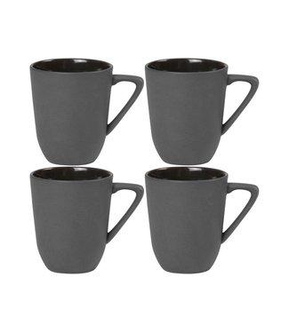 Nudge Nudge Espressotasse 80 ml, 4 Stück, Liquorice