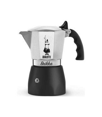 Bialetti Bialetti Espressokanne Brikka R Silber 2 Tassen