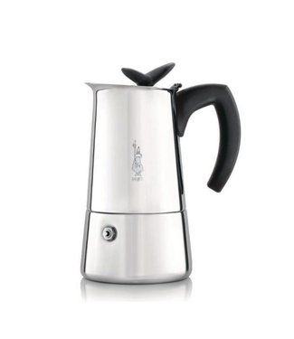 Bialetti Bialetti Espressokanne Musa Silber, 6 Tassen