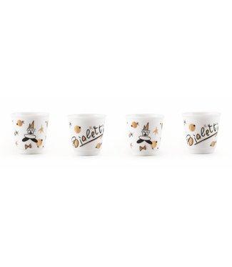 Bialetti Bialetti Espressotasse Rose Gold Collection 4 Tassen