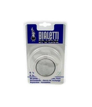 Bialetti Bialetti Dichtungsring & Filterplatte Venus Kitty,Musa, 10 Tassen