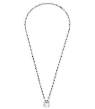 LEONARDO SCHMUCK Leonardo Schmuck Halskette mit Anhänger Vittoria Clip & Mix Edelstahl