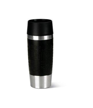Emsa Emsa Thermobecher Travel Mug 360 ml, Schwarz