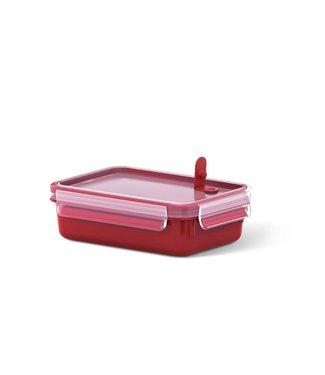Emsa Emsa Mikrowellendose Clip & Micro 0.8 l, Rot