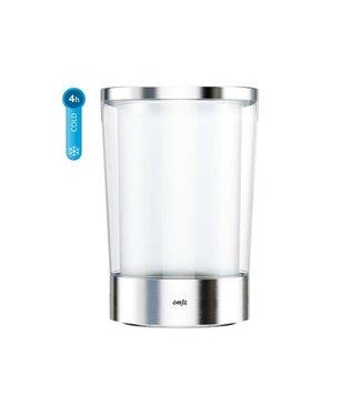 Emsa Emsa Flaschenkühler FLOW Slim Transparent/Silber