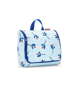 Reisenthel  Reisenthel Necessaire Toiletbag XL Leaves Blue