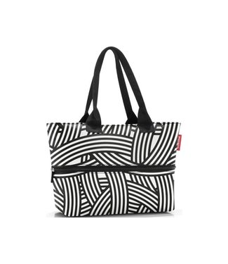 Reisenthel  Reisenthel Tasche Shopper e1 Zebra Schwarz/Weiss