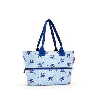 Reisenthel  Reisenthel Tasche Shopper e1 Leaves Blue Hellblau