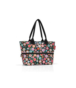 Reisenthel  Reisenthel Tasche Shopper e1 Happy Flowers Grün/Mehrfarbig/Orange/Rot