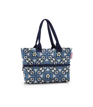 Reisenthel  Reisenthel Tasche Shopper e1 Floral 1 Blau/Gelb/Weiss