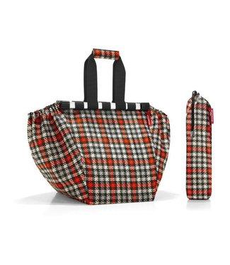 Reisenthel  Reisenthel Tasche Easyshopping Glencheck Red Schwarz/Grau/Beige/Orange