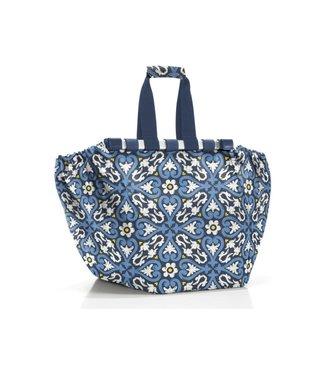 Reisenthel  Reisenthel Tasche Easyshopping Floral 1 Blau/Weiss/Gelb
