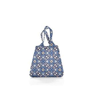 Reisenthel  Reisenthel Tasche Mini Maxi Shopper Floral 1 Blau/Weiss/Gelb