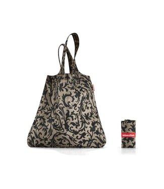Reisenthel  Reisenthel Tasche Mini Maxi Shopper Baroque Taupe Braun/Schwarz