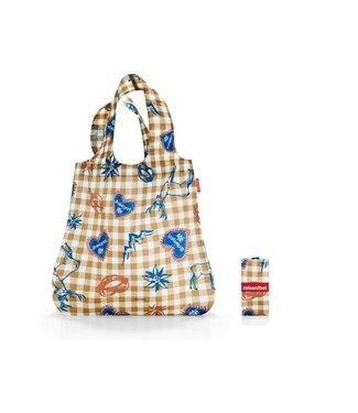 Reisenthel  Reisenthel Tasche Mini Maxi Shopper Bavaria 4 Braun/Weiss