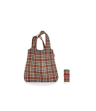 Reisenthel  Reisenthel Tasche Mini Maxi Shopper Glencheck Red Rot/Grau