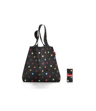 Reisenthel  Reisenthel Tasche Mini Maxi Shopper Dots Schwarz/Mehrfarbig