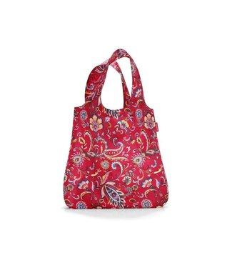 Reisenthel  Reisenthel Tasche Mini Maxi Shopper Paisley Ruby Rot